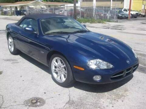 2001 Jaguar XK-Series for sale at TROPICAL MOTOR CARS INC in Miami FL