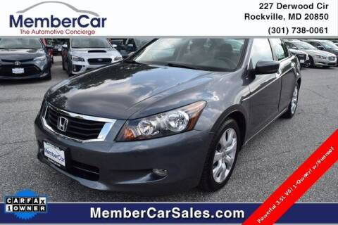 2010 Honda Accord for sale at MemberCar in Rockville MD