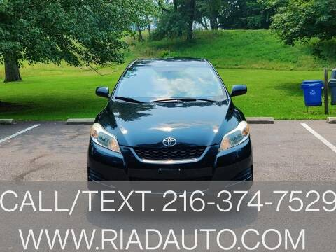 2009 Toyota Matrix for sale at Riad Auto Sales in Cleveland OH