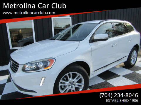 2015 Volvo XC60 for sale at Metrolina Car Club in Matthews NC
