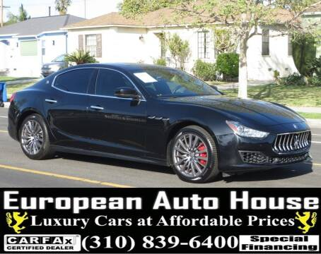 2018 Maserati Ghibli for sale at European Auto House in Los Angeles CA