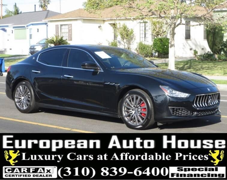 2018 Maserati Ghibli for sale at European Auto House in Los Angeles CA