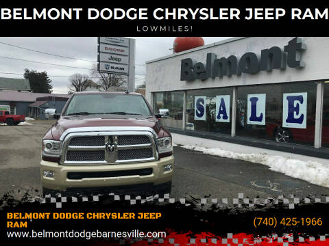 2016 RAM Ram Pickup 2500 for sale at BELMONT DODGE CHRYSLER JEEP RAM in Barnesville OH
