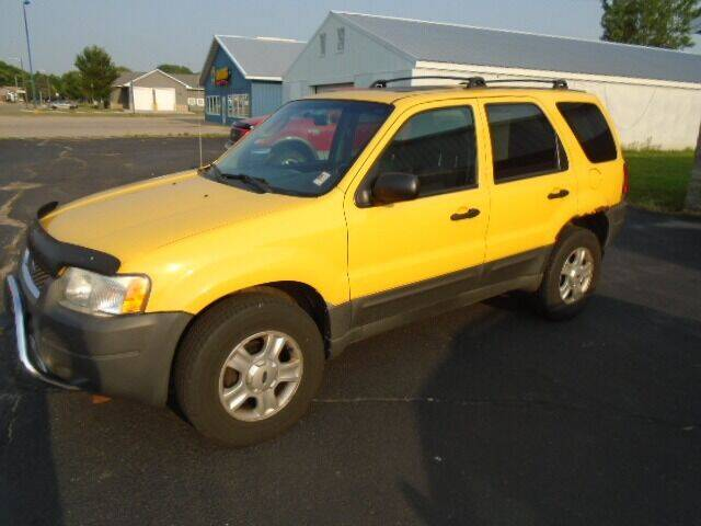 2003 Ford Escape for sale at SWENSON MOTORS in Gaylord MN