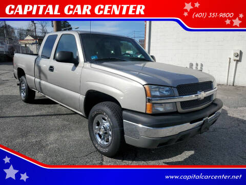 2003 Chevrolet Silverado 1500 for sale at CAPITAL CAR CENTER in Providence RI