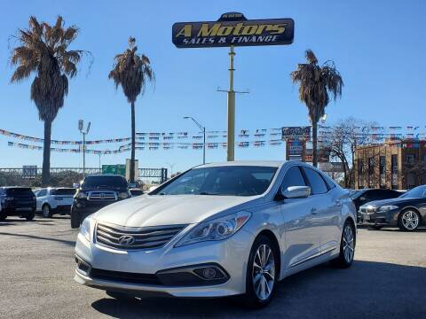 2016 Hyundai Azera for sale at A MOTORS SALES AND FINANCE in San Antonio TX