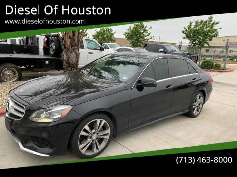 2014 Mercedes-Benz E-Class for sale at Diesel Of Houston in Houston TX