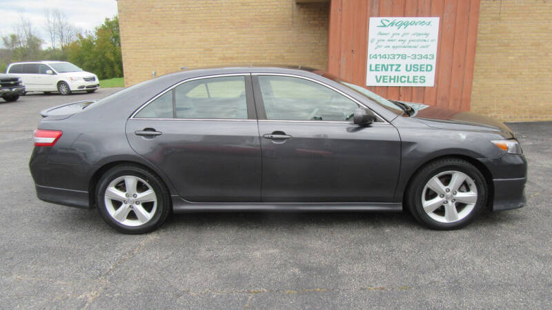 2011 Toyota Camry for sale at LENTZ USED VEHICLES INC in Waldo WI