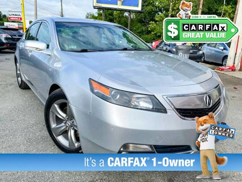 2012 Acura TL for sale at High Rated Auto Company in Abingdon MD