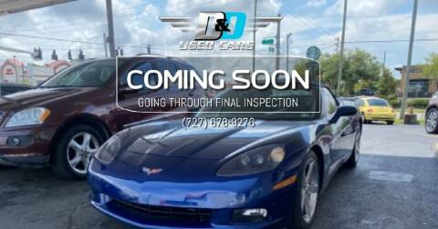 2006 Chevrolet Corvette for sale at D & D Used Cars in New Port Richey FL