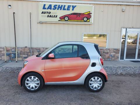 2016 Smart fortwo for sale at Lashley Auto Sales in Mitchell NE