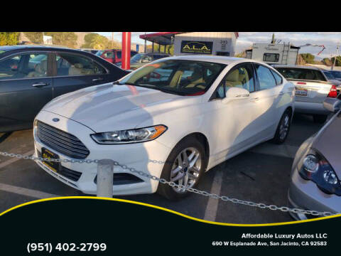2013 Ford Fusion for sale at Affordable Luxury Autos LLC in San Jacinto CA
