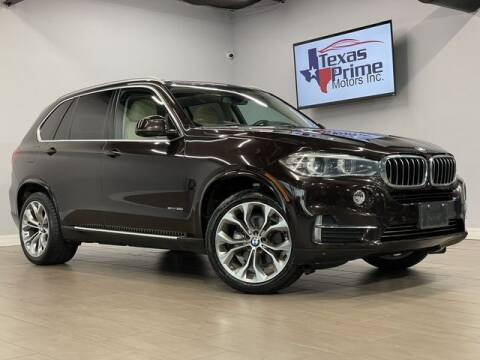 2015 BMW X5 for sale at Texas Prime Motors in Houston TX