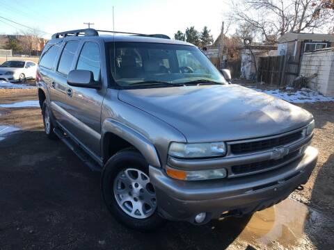 2003 Chevrolet Suburban for sale at 3-B Auto Sales in Aurora CO