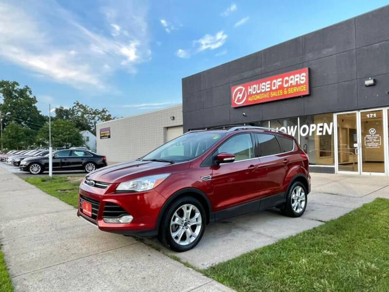 2016 Ford Escape for sale at HOUSE OF CARS CT in Meriden CT