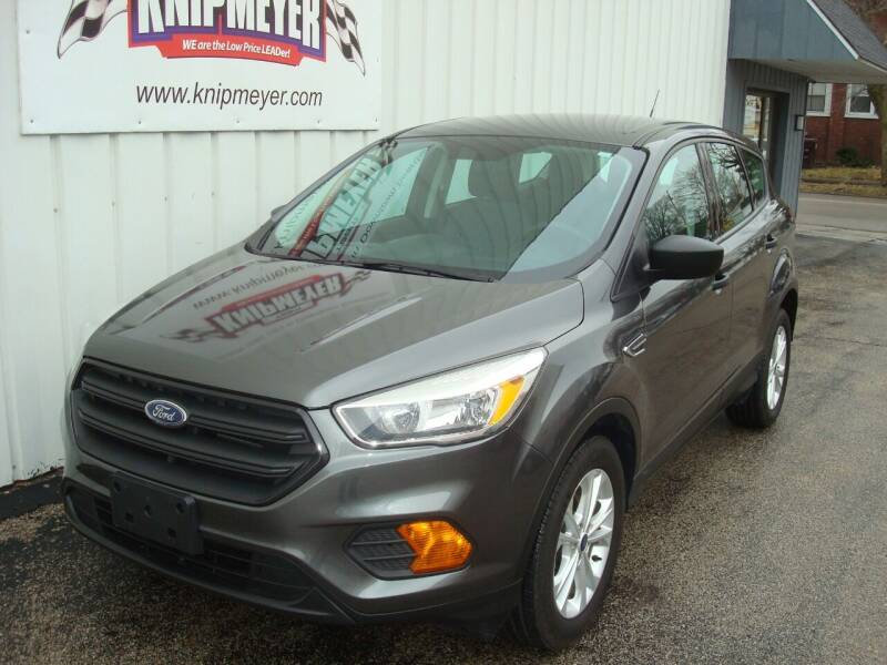 2017 Ford Escape for sale at Team Knipmeyer in Beardstown IL