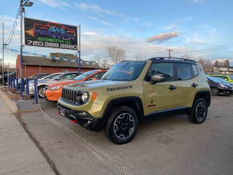 2015 Jeep Renegade for sale at AWD Denver Automotive LLC in Englewood CO