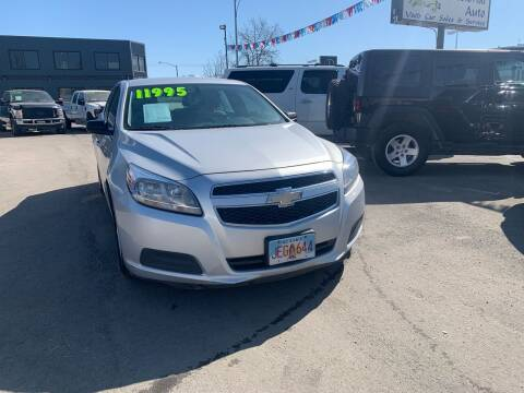 2013 Chevrolet Malibu for sale at ALASKA PROFESSIONAL AUTO in Anchorage AK