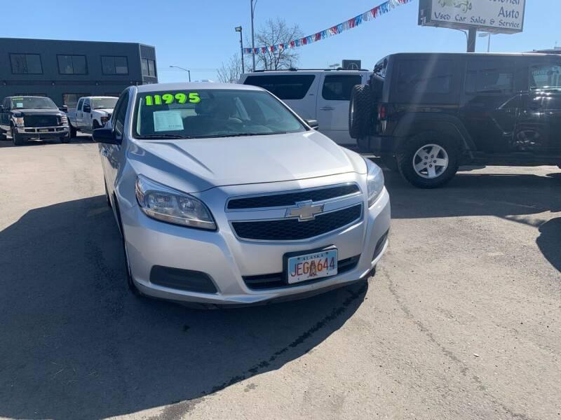 2013 Chevrolet Malibu for sale at ALASKA PROFESSIONAL AUTO in Anchorage AK
