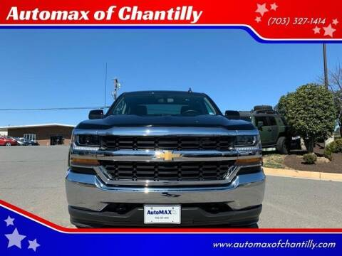 2019 Chevrolet Silverado 1500 LD for sale at Automax of Chantilly in Chantilly VA