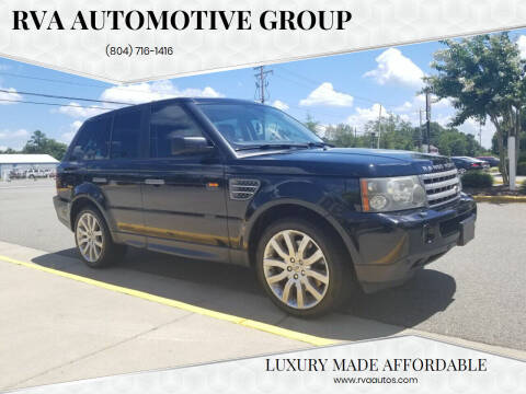 2007 Land Rover Range Rover Sport for sale at RVA Automotive Group in North Chesterfield VA
