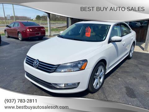 2015 Volkswagen Passat for sale at Best Buy Auto Sales in Midland OH