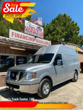 2013 Nissan NV Cargo for sale at Oscar's Truck Center, LLC in Houston TX