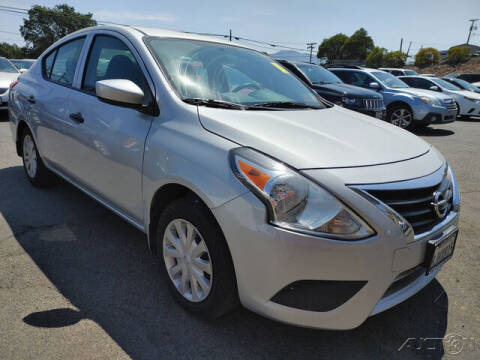 2019 Nissan Versa for sale at Guy Strohmeiers Auto Center in Lakeport CA