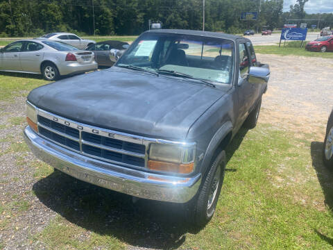 1992 Dodge Dakota for sale at Nash's Auto Sales Used Car Dealer in Milton FL