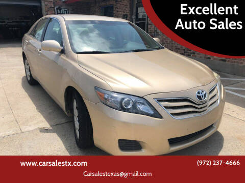 2011 Toyota Camry for sale at Excellent Auto Sales in Grand Prairie TX