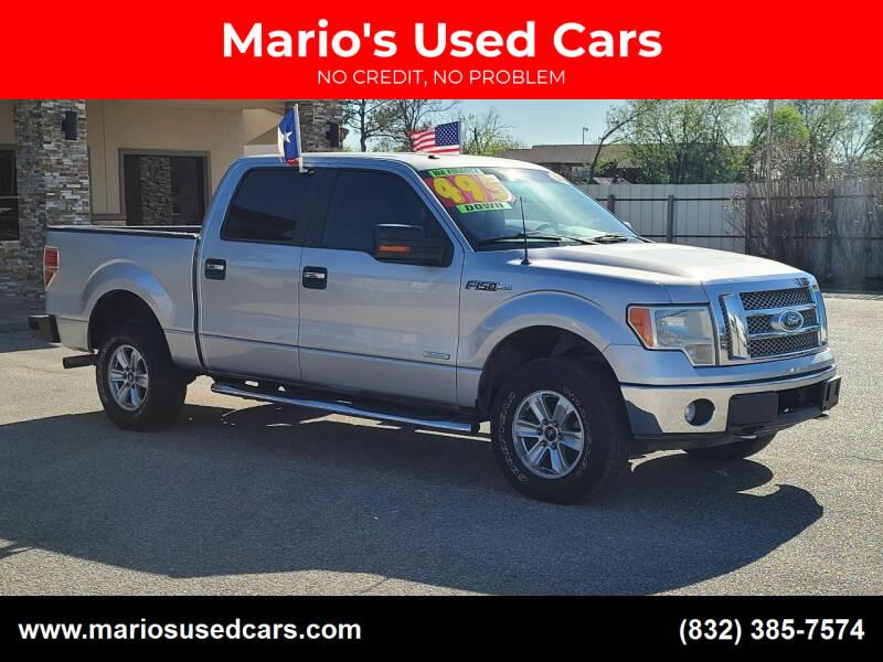 2012 Ford F-150 for sale at Mario's Used Cars - Pasadena Location in Pasadena TX