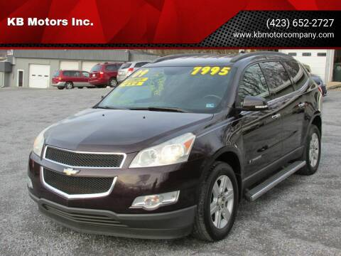2009 Chevrolet Traverse for sale at KB Motors Inc. in Bristol VA
