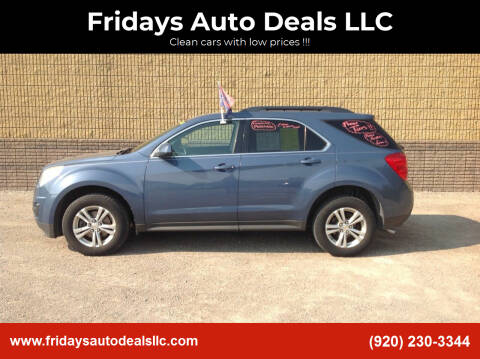 2011 Chevrolet Equinox for sale at Fridays Auto Deals LLC in Oshkosh WI