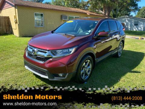 2017 Honda CR-V for sale at Sheldon Motors in Tampa FL