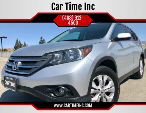 2013 Honda CR-V for sale at Car Time Inc in San Jose CA