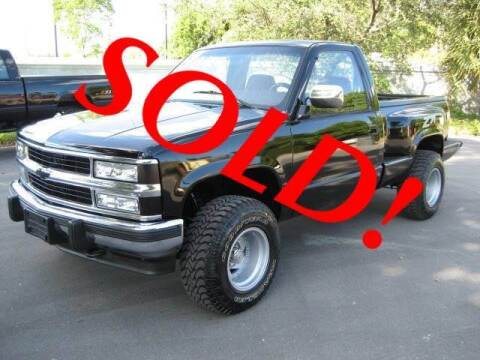1993 Chevrolet C/K 1500 Series for sale at RPM Motors LLC in West Palm Beach FL
