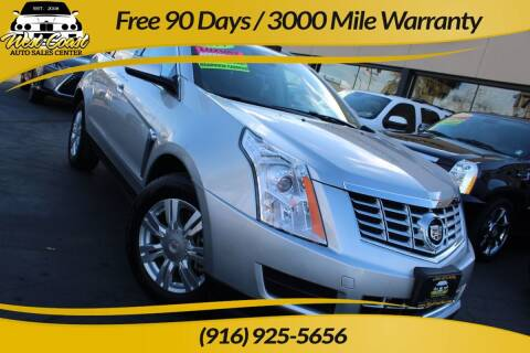 2014 Cadillac SRX for sale at West Coast Auto Sales Center in Sacramento CA