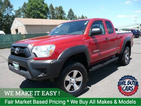 2015 Toyota Tacoma for sale at Shamrock Motors in East Windsor CT