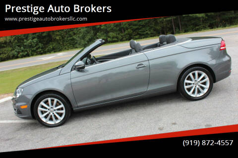 2014 Volkswagen Eos for sale at Prestige Auto Brokers in Raleigh NC