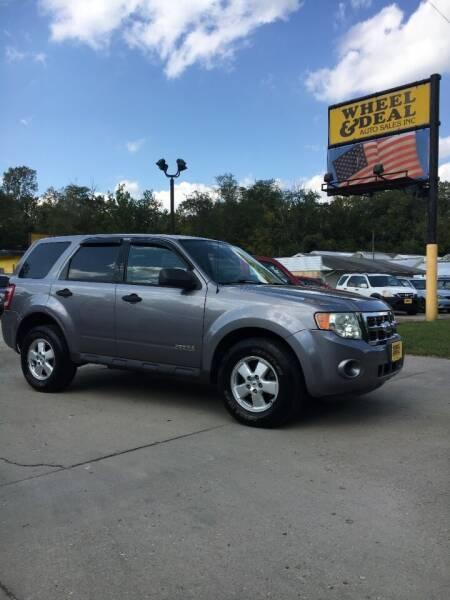 2008 Ford Escape for sale at Wheel & Deal Auto Sales Inc. in Cincinnati OH