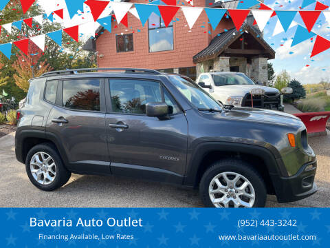 2017 Jeep Renegade for sale at Bavaria Auto Outlet in Victoria MN