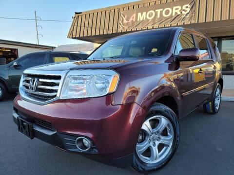 2013 Honda Pilot for sale at LA Motors LLC in Denver CO