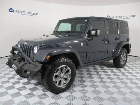 2016 Jeep Wrangler Unlimited for sale at Curry's Cars Powered by Autohouse - Auto House Tempe in Tempe AZ