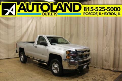2016 Chevrolet Silverado 2500HD for sale at AutoLand Outlets Inc in Roscoe IL