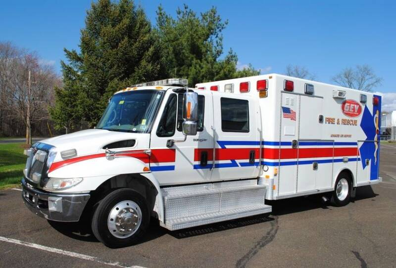 2008 International DuraStar 4300 for sale at Global Emergency Vehicles Inc in Levittown PA