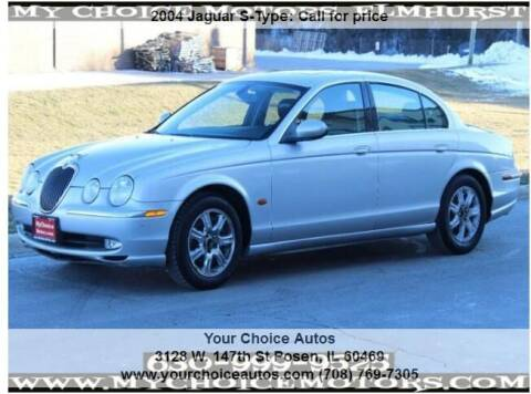 2004 Jaguar S-Type for sale at My Choice Motors Elmhurst in Elmhurst IL