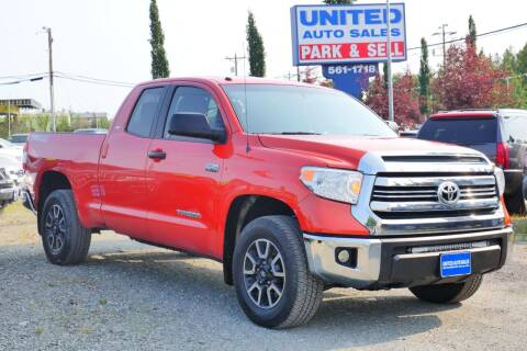 2016 Toyota Tundra for sale at United Auto Sales in Anchorage AK