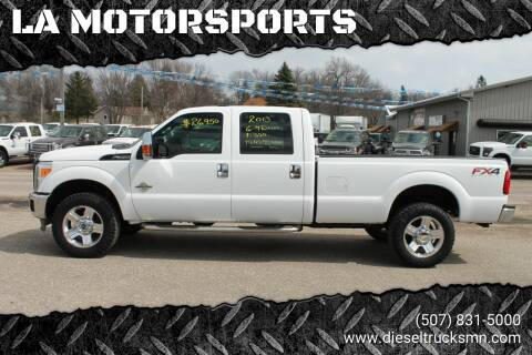 2013 Ford F-350 Super Duty for sale at LA MOTORSPORTS in Windom MN