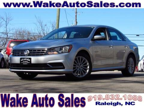 2017 Volkswagen Passat for sale at Wake Auto Sales Inc in Raleigh NC