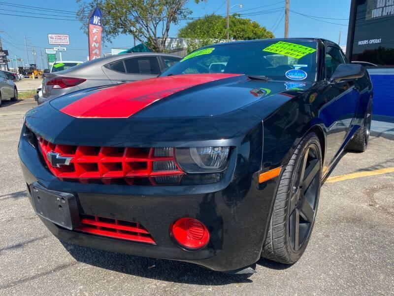 2013 Chevrolet Camaro for sale at Cow Boys Auto Sales LLC in Garland TX